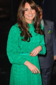 emerald pantone fashion trend 2013 kate middleton
