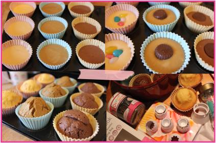 filled cupcakes with sweet treat cooking recipe method