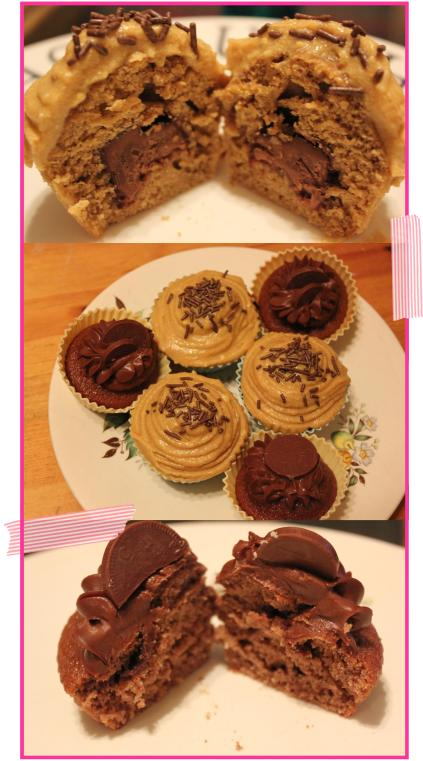 sweet treat sponge cakes filled cupcakes with chocolate surprise filling recipe