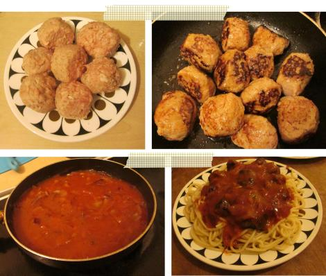 pieday friday recipe for spaghetti bolognese and meatballs cooking main meal