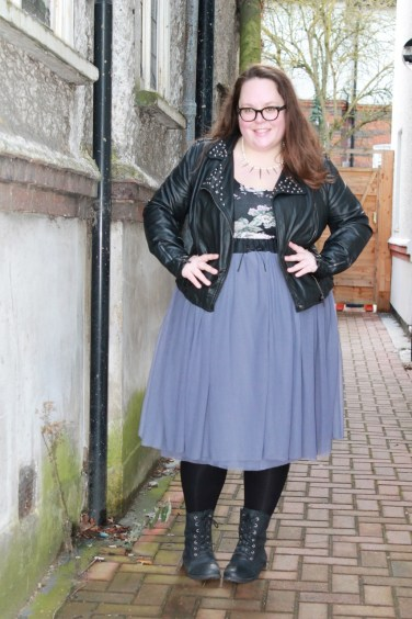 the wardrobe challenge hanna photo of tulle skirt for punky princess fashion look
