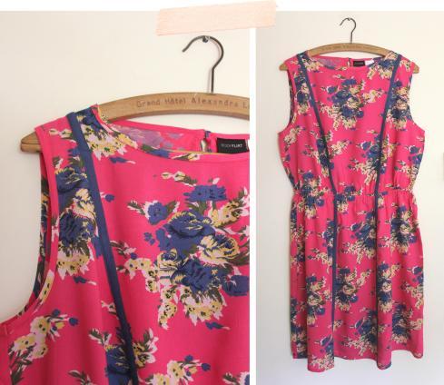 cassiefairy summer floral fashion trend dress bon prix