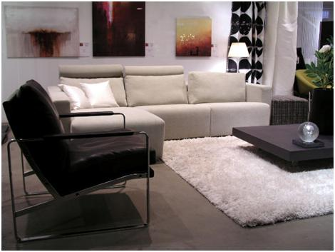 Love your home for less monochrome black and white design