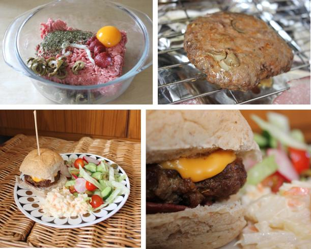 pieday friday bbq flavoured olive burgers recipe