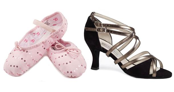 Bloch dancing shoes from move dancewear
