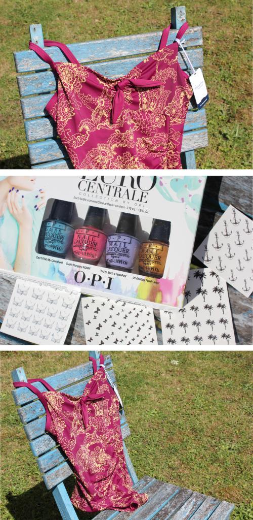 cassiefairy lifestyle blog summer swimwear panache and opi nail art