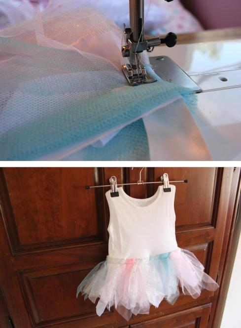 inspiration challenge cassiefairy tulle tutu for child babygrow