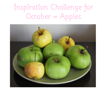 Inspiration Challenge for October 2013 theme - apples
