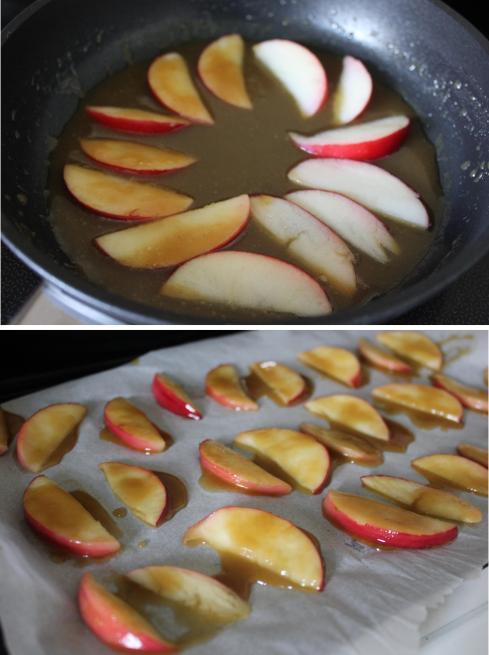 pieday friday spiced caramel apple cakes for autumn