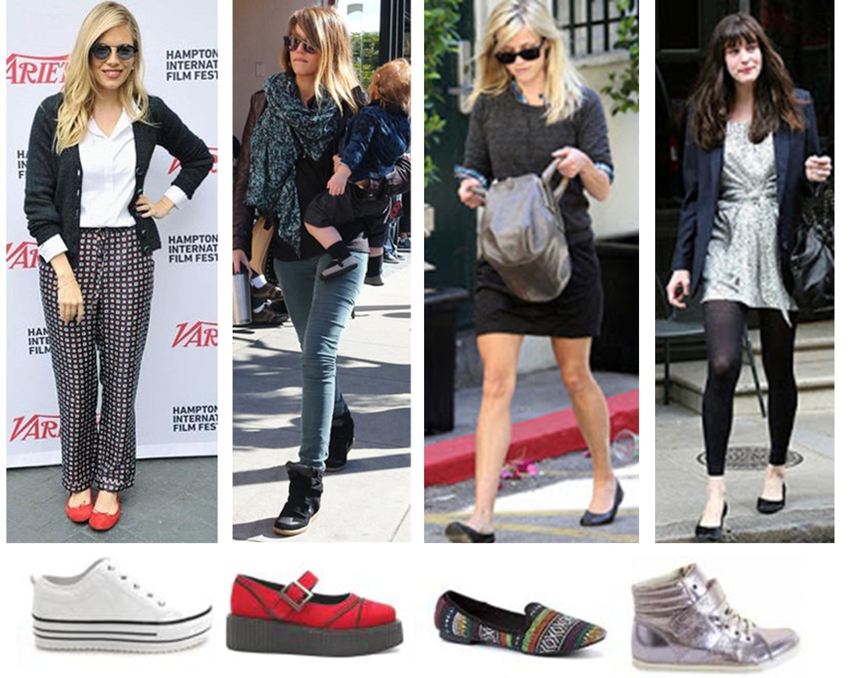 Popular 2019 Celebrity Shoe Trends   Who What Wear