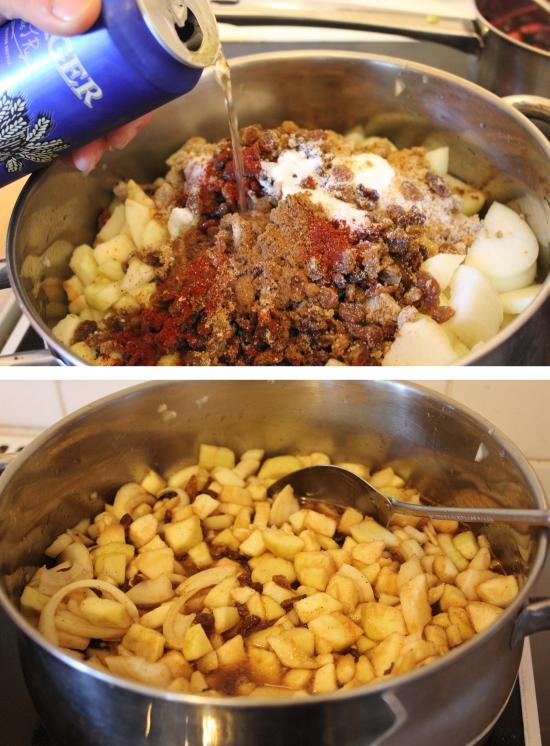 cooking beer chutney recipe