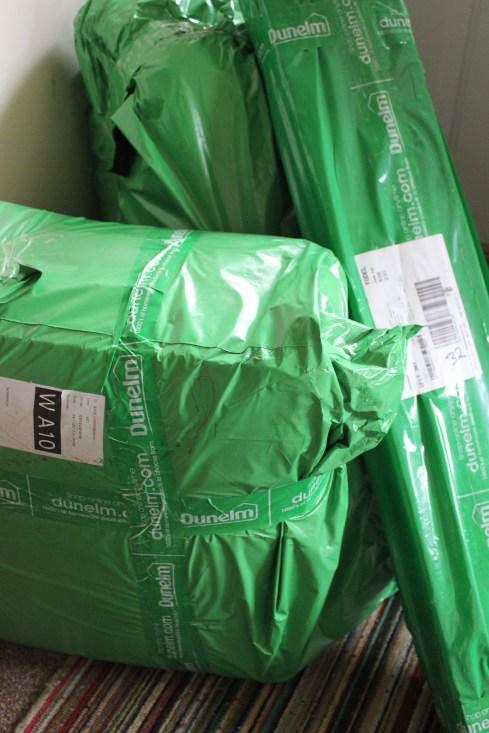 Dunelm 30 days of sleep challenge parcels