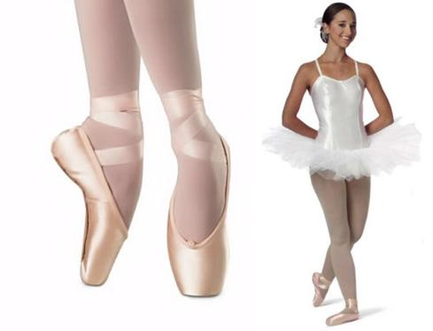 ballet pointe shoes from dancemania