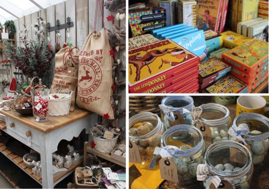 chirstmas shopping at snape maltings toys and crafts