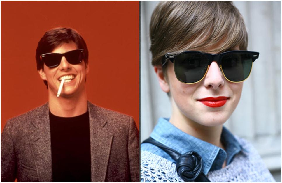 Recycle The Best Fashion Trends Of The 80s For Today on ray ban accessories