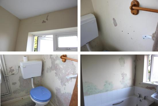 life hacks how to get rid of mould in bathroom