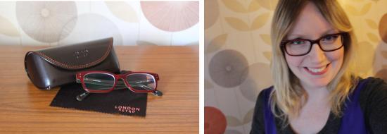 my optique london retro glasses