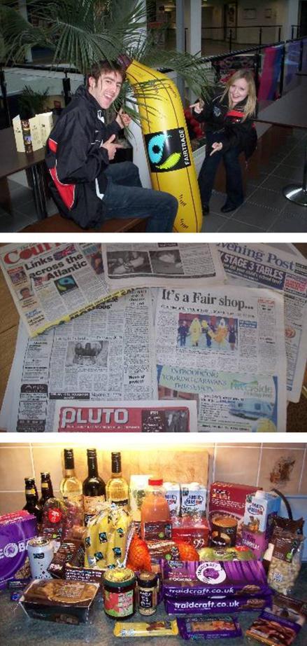 fairtrade fortnight 2007 2008 student union challenge blog