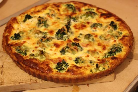 pieday friday recipe for low fat broccoli and ham quiche