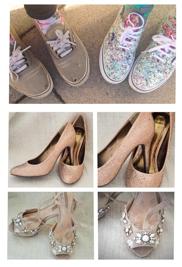 tuesday shoesday favourite shoes from glitter daze and the new craft society trainers