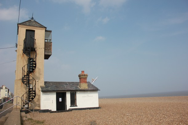 Aldeburgh beach south lookout tower gallery