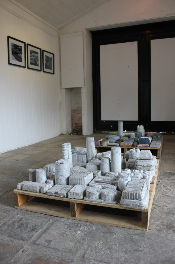 Caroline Wiseman south lookout tower gallery installation by Andy Greenacre 2014 VOID - The Landscape of Waste Packaging