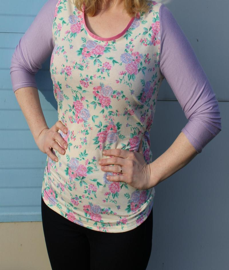 DIY summer top sewing project