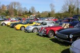 classic car rally photos