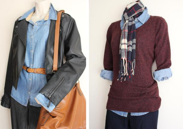 ideas for creating thrifty fashion looks with clothes you already own