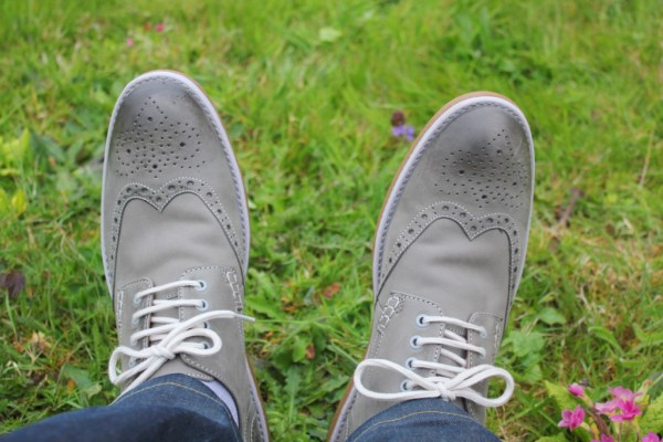 tuesday shoesday mens shoes grey farli limit brogues from clarks