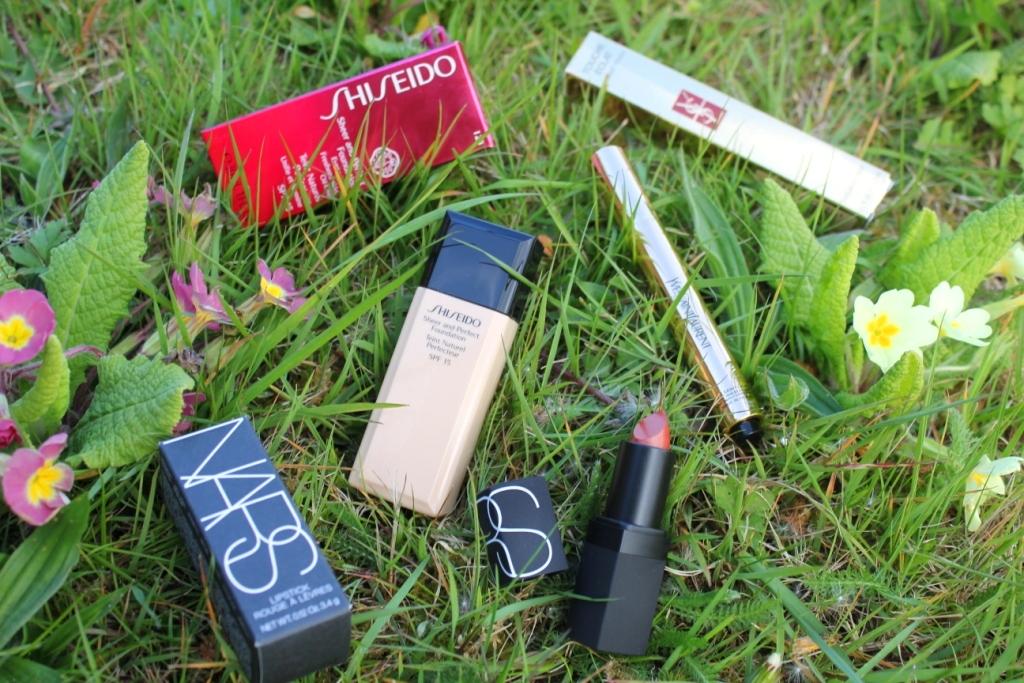 yves saint laurent nars and shiseido make up for the national blog awards