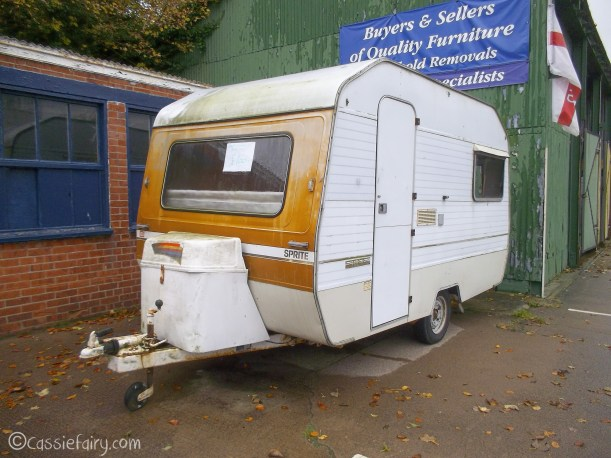 Vintage caravan makeover project on Cassiefairy blog-1
