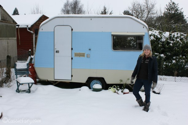 Vintage caravan makeover project on Cassiefairy blog-6