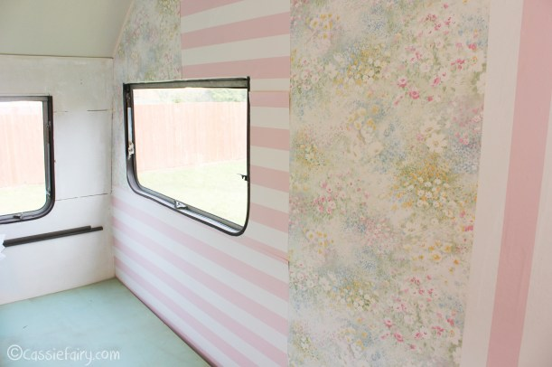 Vintage caravan makeover project on Cassiefairy blog-7