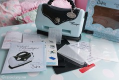 card making craft ideas including Sizzix embossing kit review-2