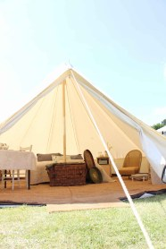 Glamping festival ideas - bell tent-1