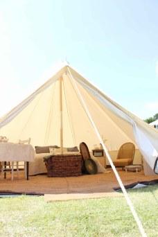Glamping festival ideas - bell tent-1