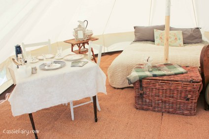 Glamping festival ideas - bell tents-1