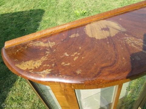Vintage caravan project - DIY painted cabinet furniture makeover-5