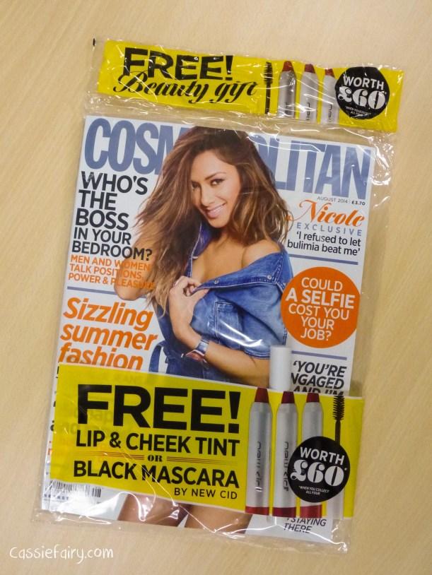 Cosmopolitan blog awards 2014 - vote for Cassiefairy