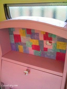 DIY Patchwork Desk