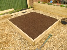 DIY making a raised bed-2