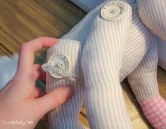 DIY sew your own teddy bear gift-4