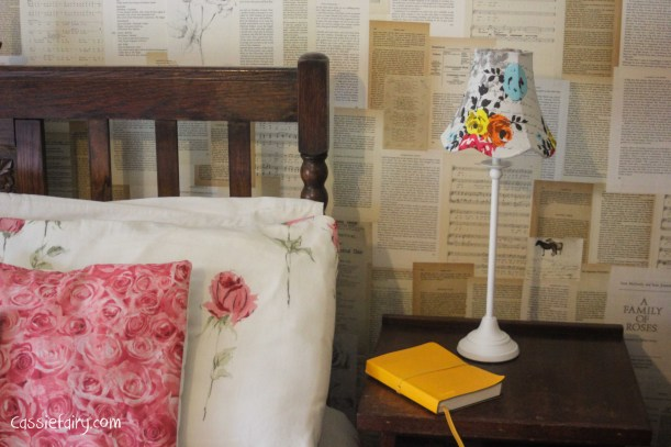 Dream a little dream bedroom makeover project - bedside lights from BHS-6
