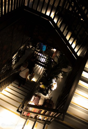 Hollister Cambridge store interior design