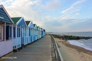 Photos of the Suffolk Coast - beach huts at Southwold