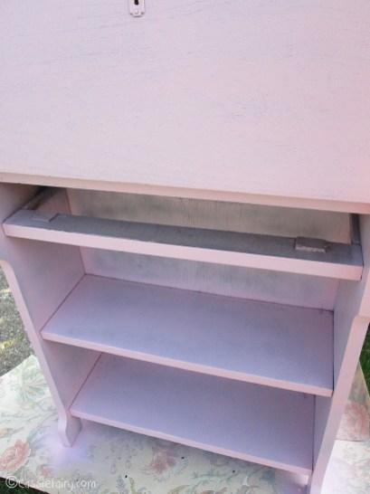 Vintage caravan project - DIY painted cabinet furniture makeover-7