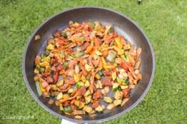 chorizo and veg pasta recipe-3