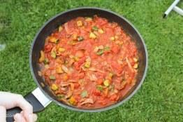 chorizo and veg pasta recipe-4