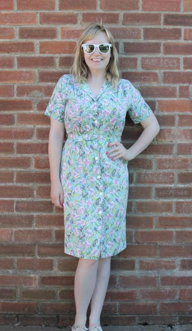 tips for sewing a vintage dress to fit